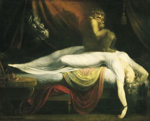The Nightmare by Johann Heinrich Fussli