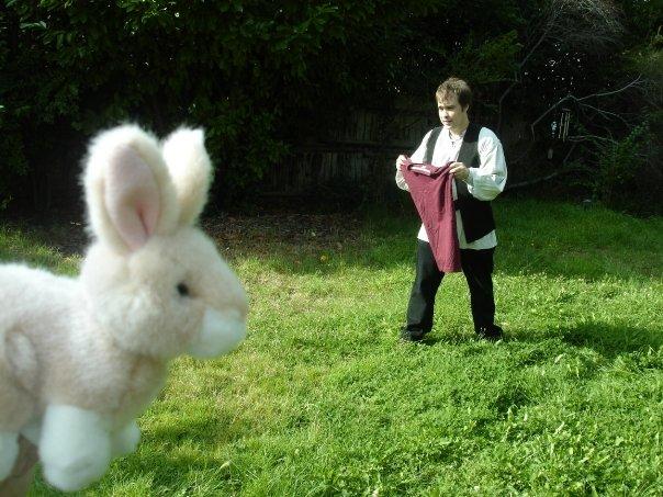 Cowardly Matador Only Fights Rabbits