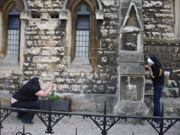 Nun Fight at the OK Chapel