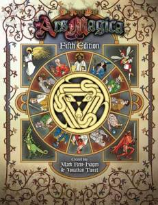Ars Magica 5th Edition - the only book you really need to run your game