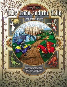 The Lion and the Lily - 5th edition Tribunal Sourcebook for Normandy