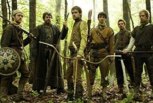 Robin Hood, Robin Hood, with his merry men...