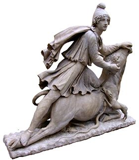 Mithras and the bull