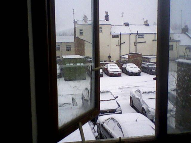 shot from my bedroom window