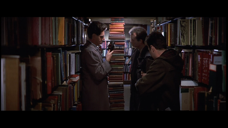 symmetrical book stacking, from Ghostbusters