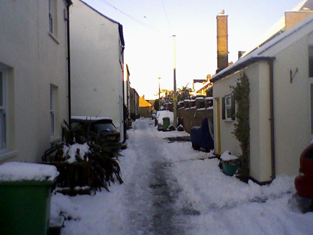 Normal Terrace in the Snow
