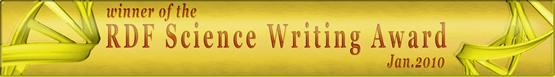 Essay won the Richard Dawkins Forum Science Writing Contest, January 2010