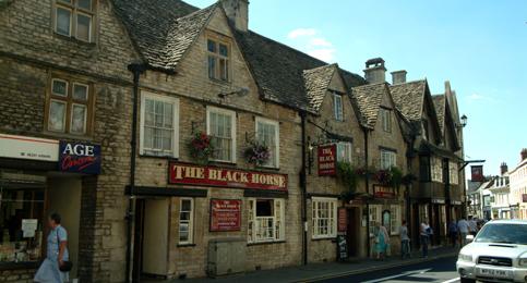 black horse cirencester