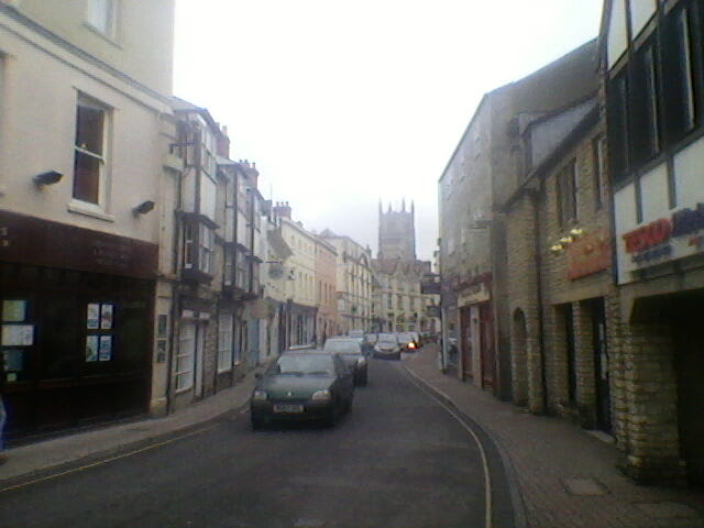 I snapped a shot of Cirencester as we walked