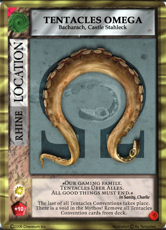 Tentacles 2009 Mythos Card