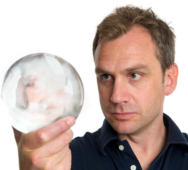 Matthew Smith + crystal ball