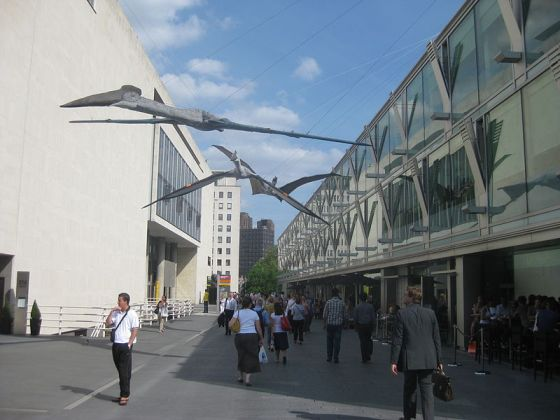 Photo of Royal Society 350th anniversary South Bank Pterosaur sculptures