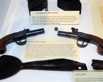 Corder's Pistols in Moyses Hall museum