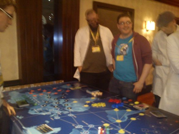Giant Pandemic Boardgame