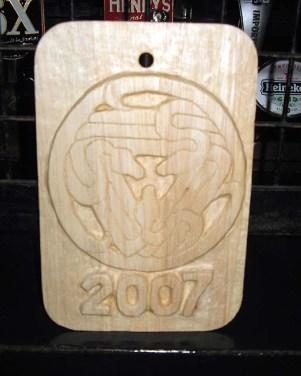 Ars Magica Woodcut logo