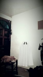 Utterly unconvincing ghost